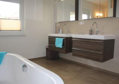 Badezimmer - fein abgestimmte Farben